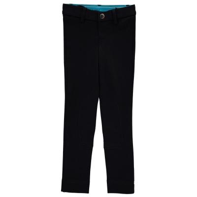 Pantaloni calarie Shires pentru fetite negru