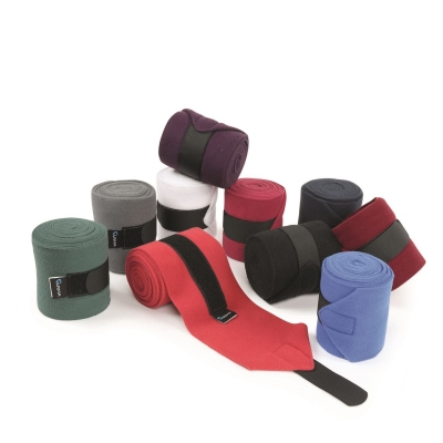 Shires Stable Bandages rosu