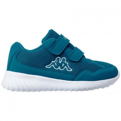 Shoes Kappa Cracker II K albastru-alb 260647K 6410 pentru Copii