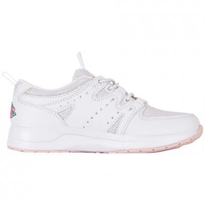 Shoes Kappa Loretto K roz And alb 260791K 1022 pentru Copii