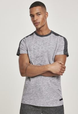 Shoulder Panel Tech Tee marled-gri Southpole