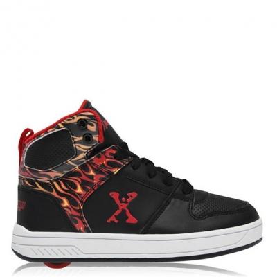 Adidasi inalti Adidasi sport Sidewalk Sport pentru baietei negru rosu