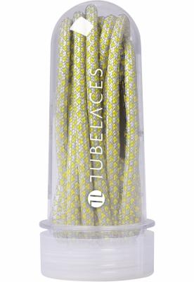 Sireturi Multi gri-galben Tubelaces neon