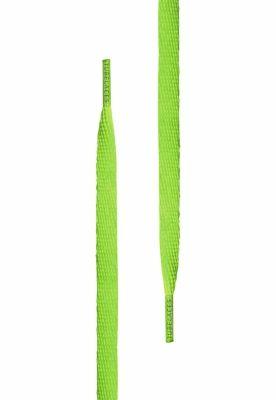 Sireturi urban alb verde-neon Tubelaces