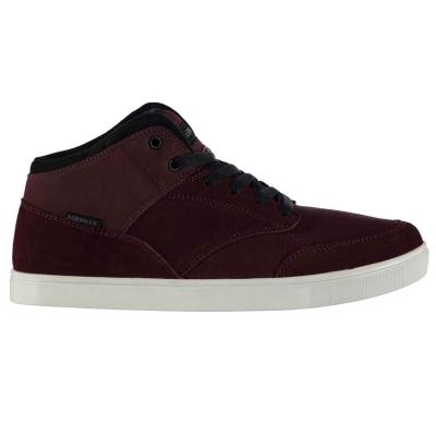 Skate Shoes Airwalk Breaker Mid pentru Barbati rosu burgundy