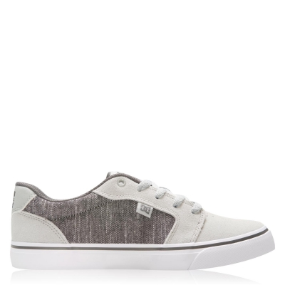 Skate Shoes DC Anvil 2.0 pentru Barbati gri alb