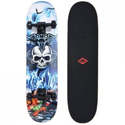 Skateboard Schildkrot Grinder 31 Inferno albastru-alb 510681