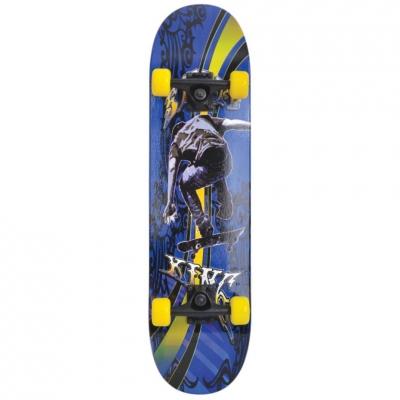 Skateboard Schildkrot Slider Cool King albastru-galben-negru 510643