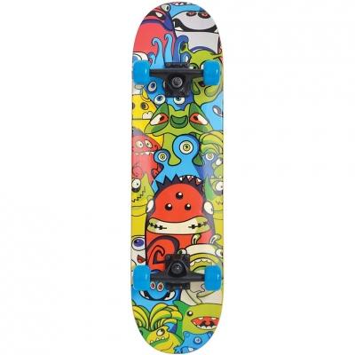 Skateboard Schildkrot Slider Monster Color 510642