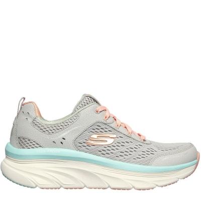 Skechers Dlux Walker Runners gri coral