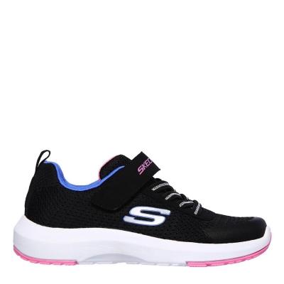 Adidasi sport Skechers Dyna Tread pentru Copii negru roz