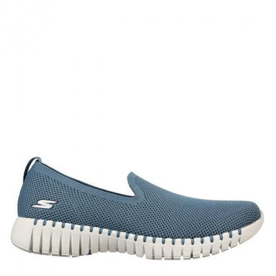 Skechers GoWalk S BL femei albastru