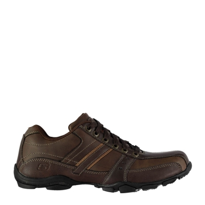 Skechers Lace Casual Shoe pentru Barbati maro