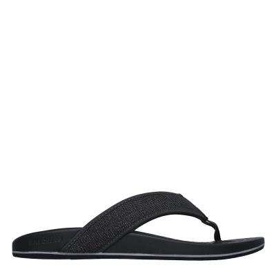 Papuci de plaja Skechers Skechers Pele-Belag pentru Barbati gri