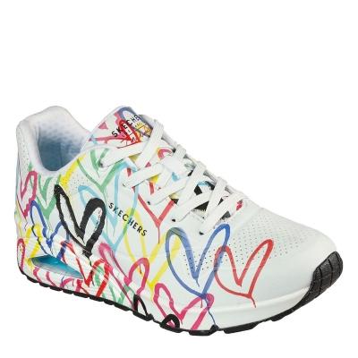 Skechers Uno Ld12 alb multicolor