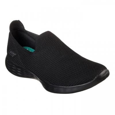 Adidasi sport Skechers YOU Zen Slip On pentru Femei negru