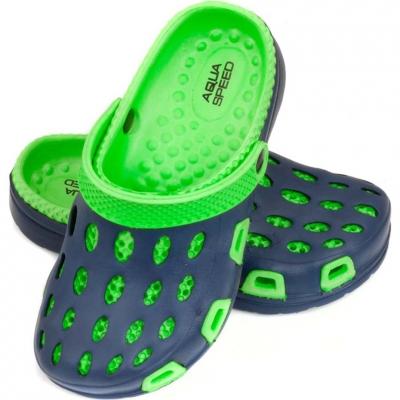 Slapi Aqua-speed Silvi Kol 48 verde bleumarin copii