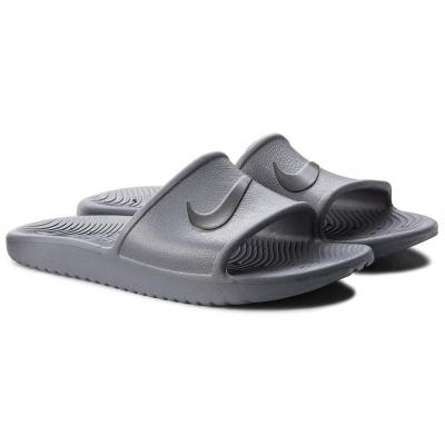 Slapi Nike Kawa Shower gri 832528 010 pentru Barbati