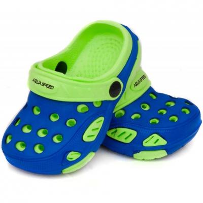 Slapi Pool Aqua-speed Lido Kol 01 albastru verde copii