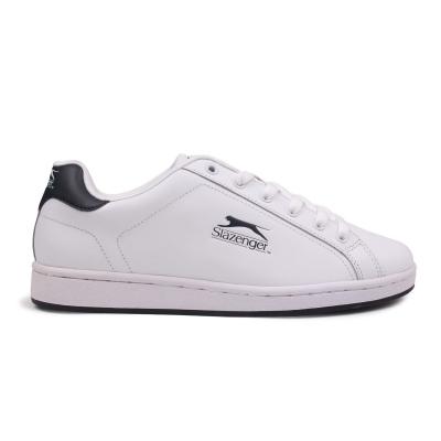 Adidasi sport Slazenger Ash Lace pentru Barbati alb bleumarin