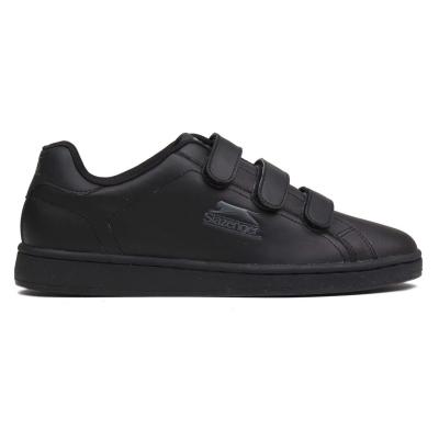 Adidasi sport Slazenger Ash Strap pentru Barbati negru gri carbune