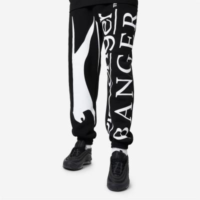 Pantaloni jogging Slazenger Banger Banger cu imprimeu negru