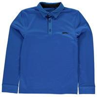 Tricou Polo cu Maneca Lunga Slazenger Golf pentru baietei