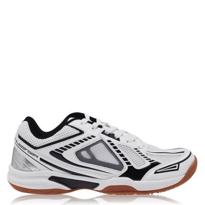 Adidasi sport Slazenger Indoor pentru Barbati alb negru