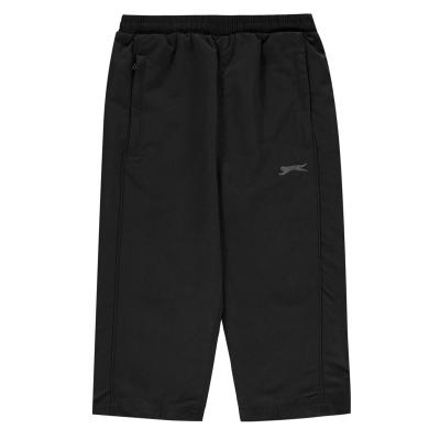 Pantaloni scurti Slazenger trei sferturi SL Woven pentru baietei negru