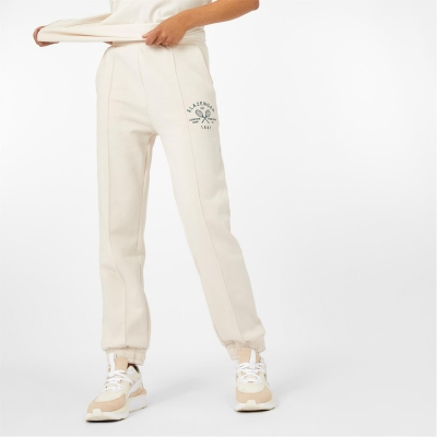 Pantaloni sport Slazenger 1881 crem