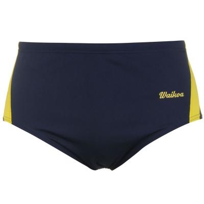 WaiKoa 15cm inot Brief pentru Barbati bleumarin galben