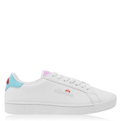Sneaker Ellesse Ellesse Campo Em din piele pentru Femei alb albastru roz