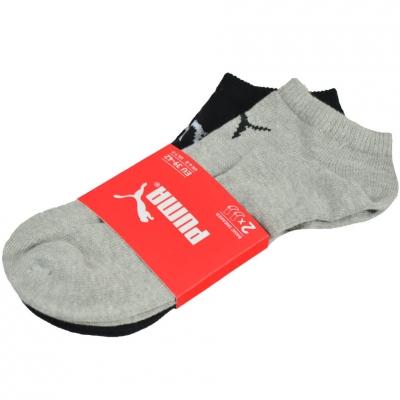 Sneaker Sosete Puma V 2 Pairs gri negru 281103397 882