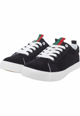 Sneaker Velour negru-stripes Urban Classics