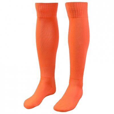 Jambiere joc fotbal SPHERES SENIOR 42-44 portocaliu