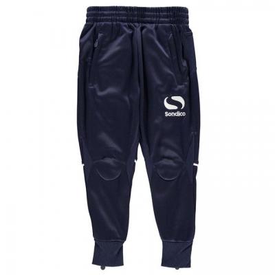 Pantaloni sport antrenament Sondico SPro Juniors bleumarin