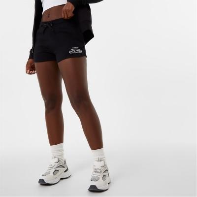 Sort sport Jack Wills Bea Logo negru