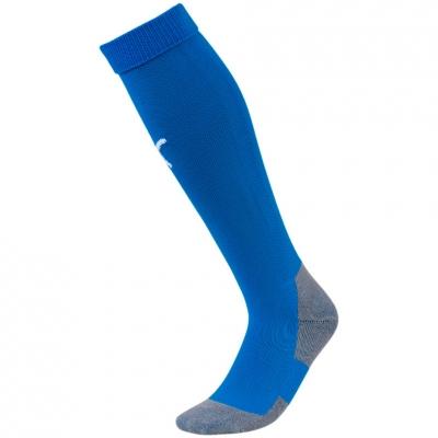 Sosete fotbal Puma Liga Core Electric albastru 703441 02
