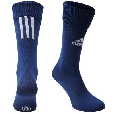 Sosete adidas fotbal Santos 18 Knee bleumarin alb