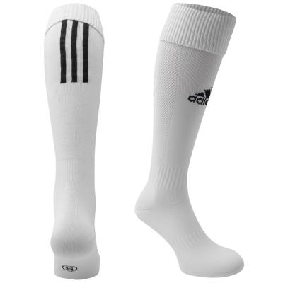 Sosete adidas Santos fotbal pentru copii alb negru