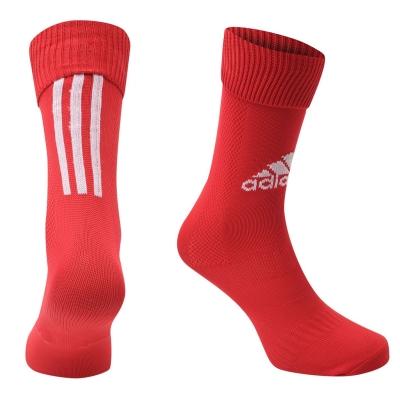 Sosete adidas Santos fotbal rosu alb