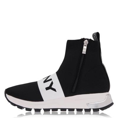Sosete Adidasi sport DKNY Mace negru alb