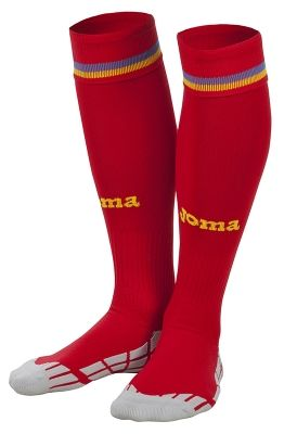 Sosete Joma 2 echipa nationala a Romaniei rosu