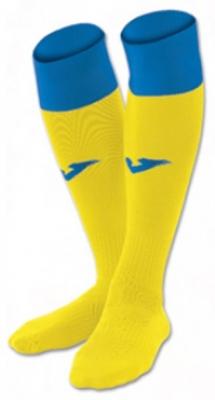 Sosete Joma Football Calcio 24 galben-royal albastru roial