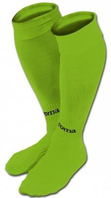 Sosete Joma Football clasic II Fluor verde - 4- fosforescent