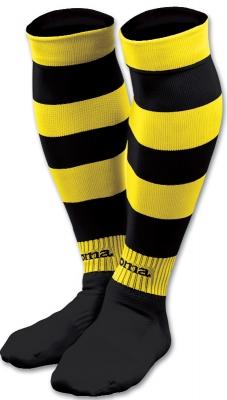 Sosete Joma imprimeu zebra 105 galben-negru