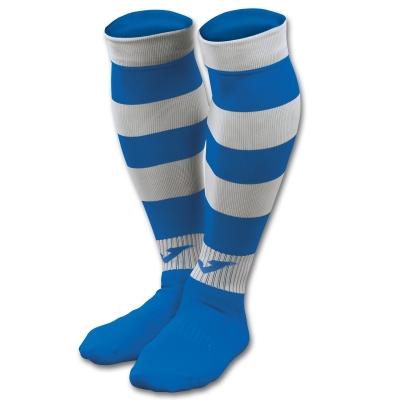 Sosete Joma imprimeu zebra 113 Royal-alb albastru roial
