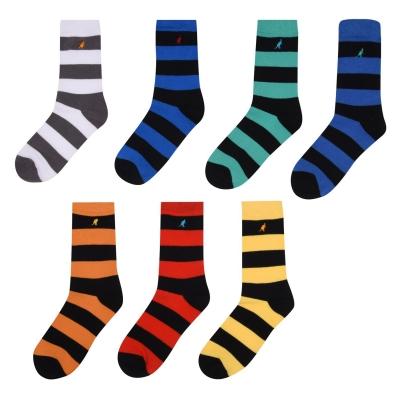 Sosete Kangol Formal 7 . pentru baietei multicolor colr strp