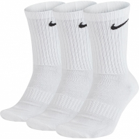Sosete Nike Everyday Cushioned Crew 3 Pairs alb SX7664 100