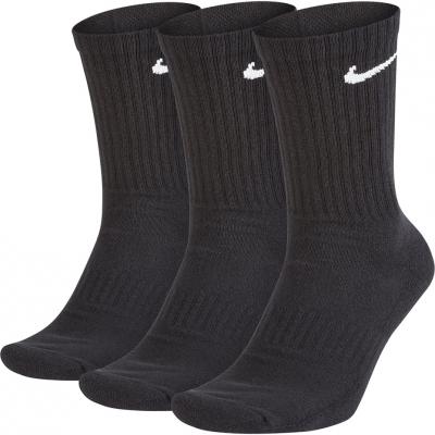 Sosete Nike Everyday Cushioned Crew 3 Pairs negru SX7664 010